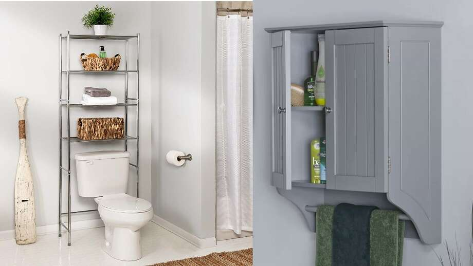 10 Above Toilet Storage Solutions For