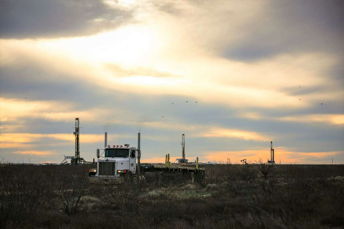 The Permian Basin lost one rig to 123, down 294 from the 417 at work a year ago in the region that covers West Texas and Southeastern New Mexico.
