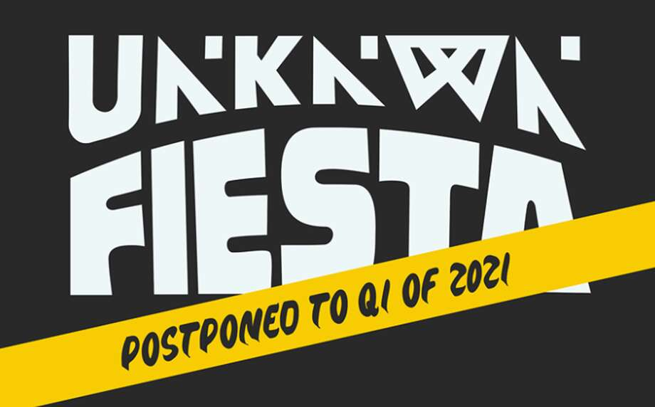 UNKNWN.Fiesta, a festival in the Philippines, was postponed from its original February date to 2021. Photo: UNKNWN.Fiesta