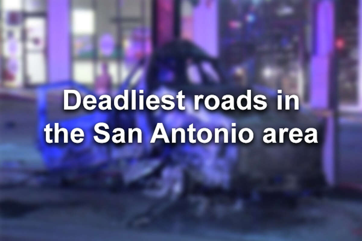>>> Click through to see the San Antonio roadways with the most fatal crashes from January 2014-May 2019 >>>
