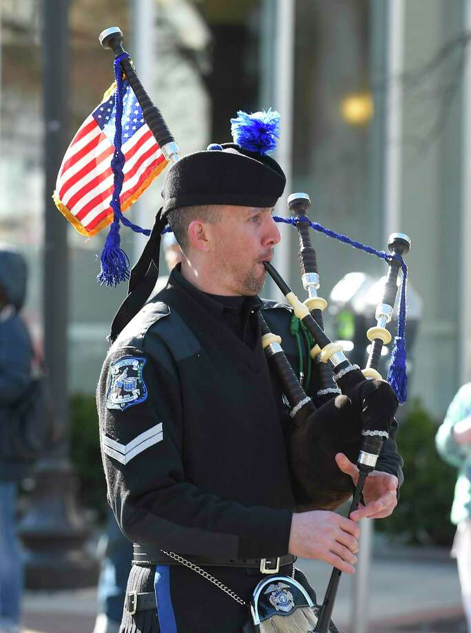 Festive scenes fill the streets with Irish Pride during the 25th Annual Stamford St. Patrick's Day Parade on March 7, 2020 in Stamford, Connecticut. Photo: Matthew Brown / Hearst Connecticut Media / Stamford Advocate