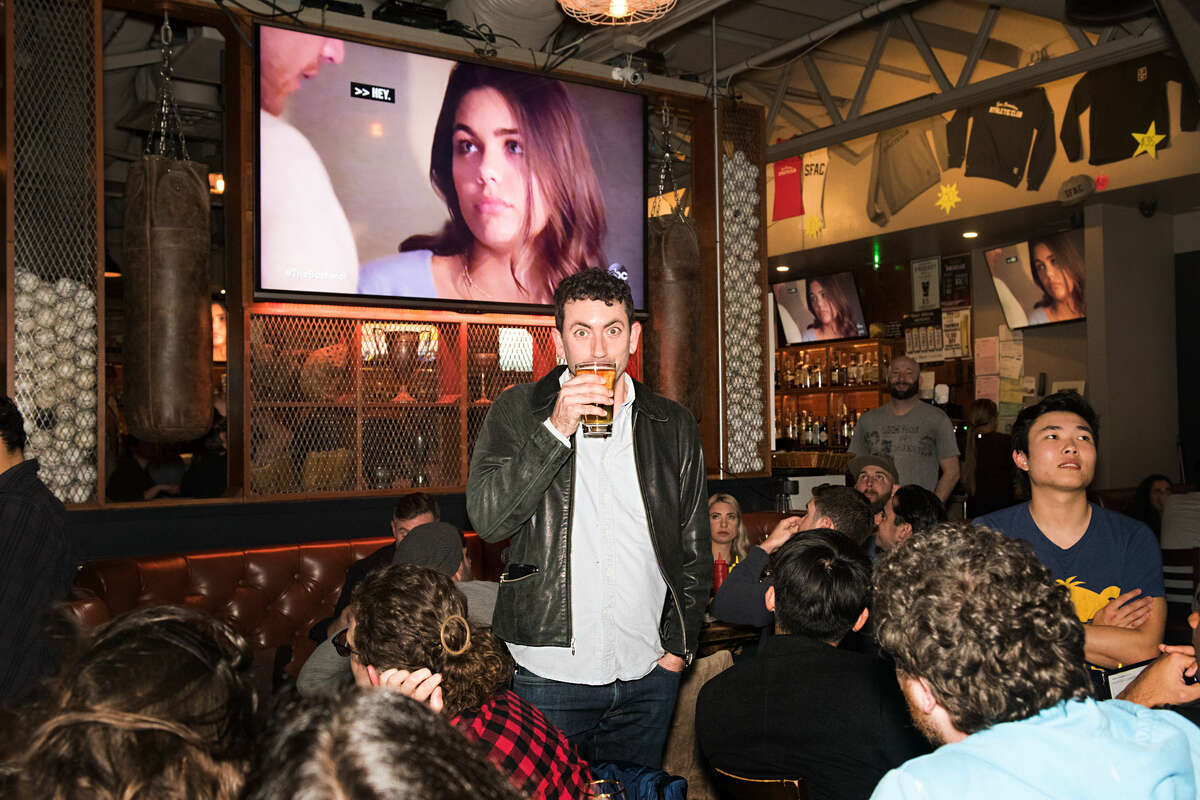 The San Francisco Athletic Club hosted a Bachelor finale viewing party on March 11, 2020.