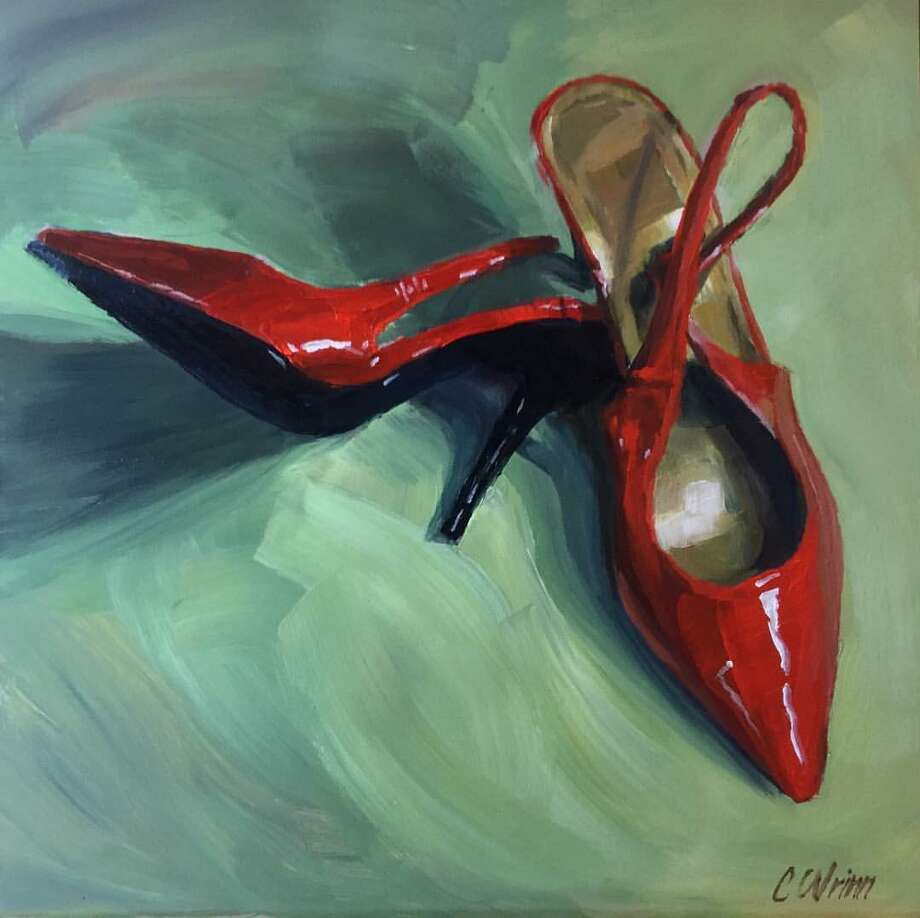Red shoes Photo: Chris Wrinn