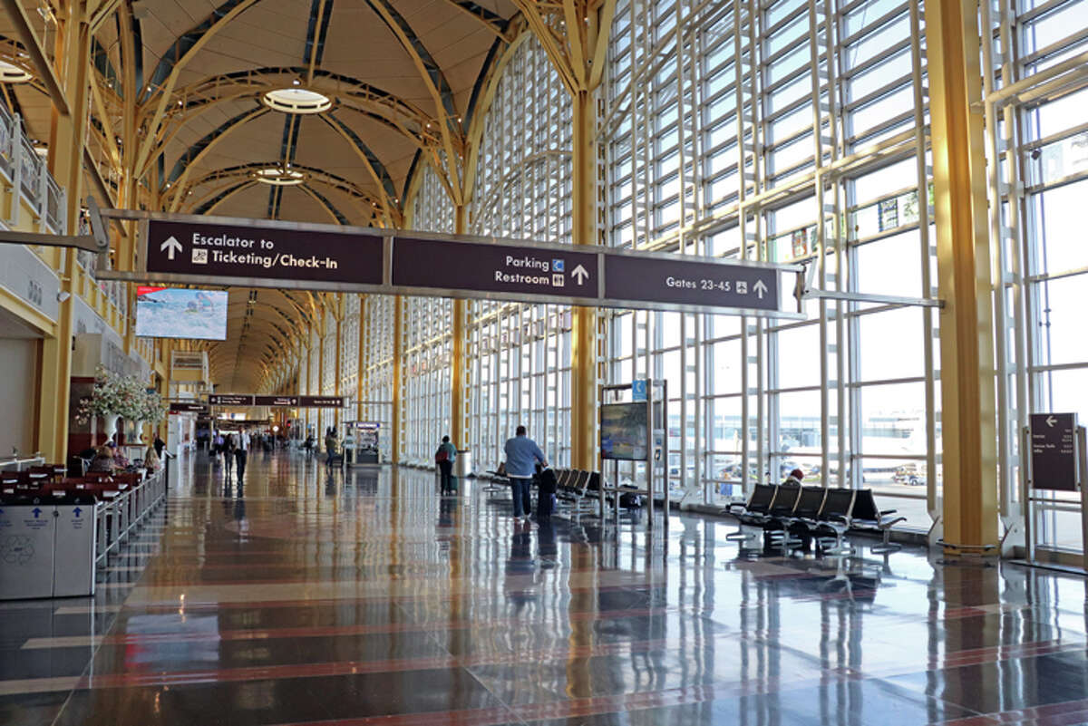 Uncrowded airport concourses are becoming the new normal this month as bookings dry up due to coronavirus fears.