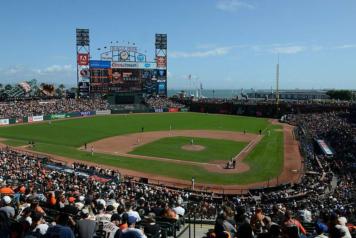 Giant's managing coach Bruce Bochy final game at Oracle Park on September 29, 2019 in San Francisco, Calif.