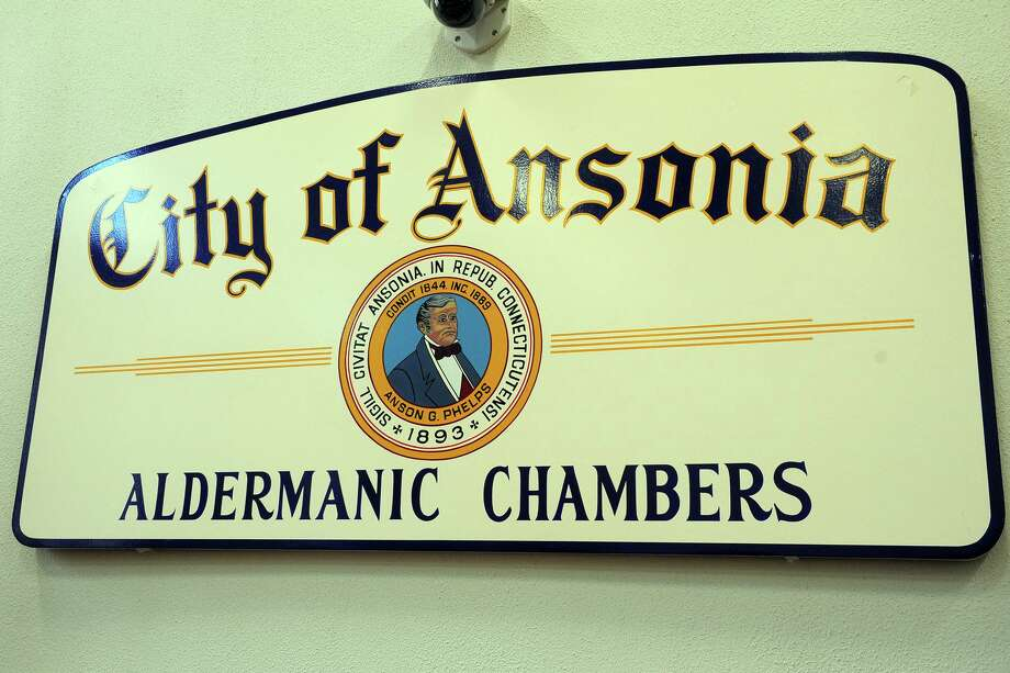 File photo, Aldermanic Chambers, City of Ansonia, Ansonia City Hall, Ansonia, Conn. Feb. 15, 2019. Photo: Ned Gerard / Hearst Connecticut Media / Connecticut Post