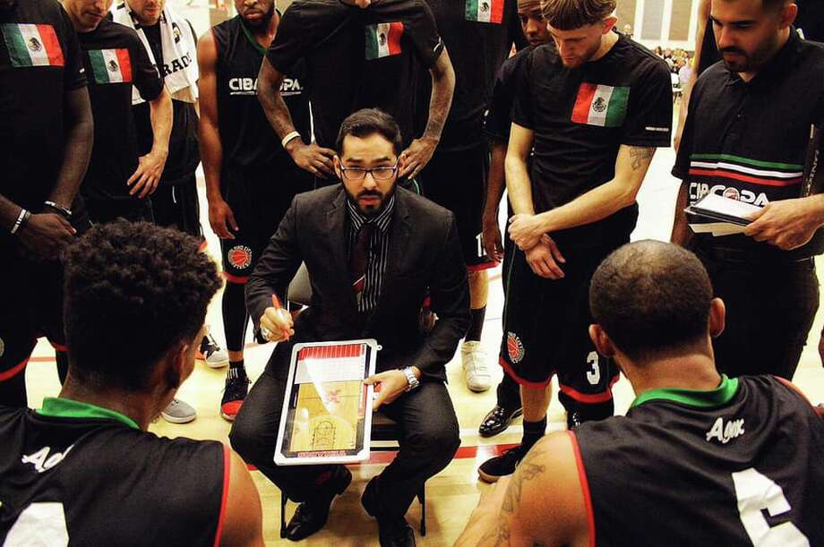 Eric Weissling, 32, is one of three assistant coaches under Sergio Molina's Mexican national team, which has the opportunity to qualify for the 2020 Olympics in Tokyo. The team will need to get past Russia and Germany in the FIBA Olympic Qualifying Tournaments hosted in Croatia in June in which four teams will be selected to move on to the worldwide stage. Photo: Courtesy, Eric Weissling