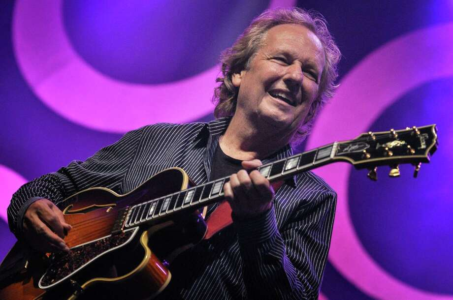 Guitarist Lee Ritenour is performing instrumental jazz at Fairfield Theatre Company's StageOne April 1. Photo: Oeday Abdullah / AFP / Getty Images / AFP