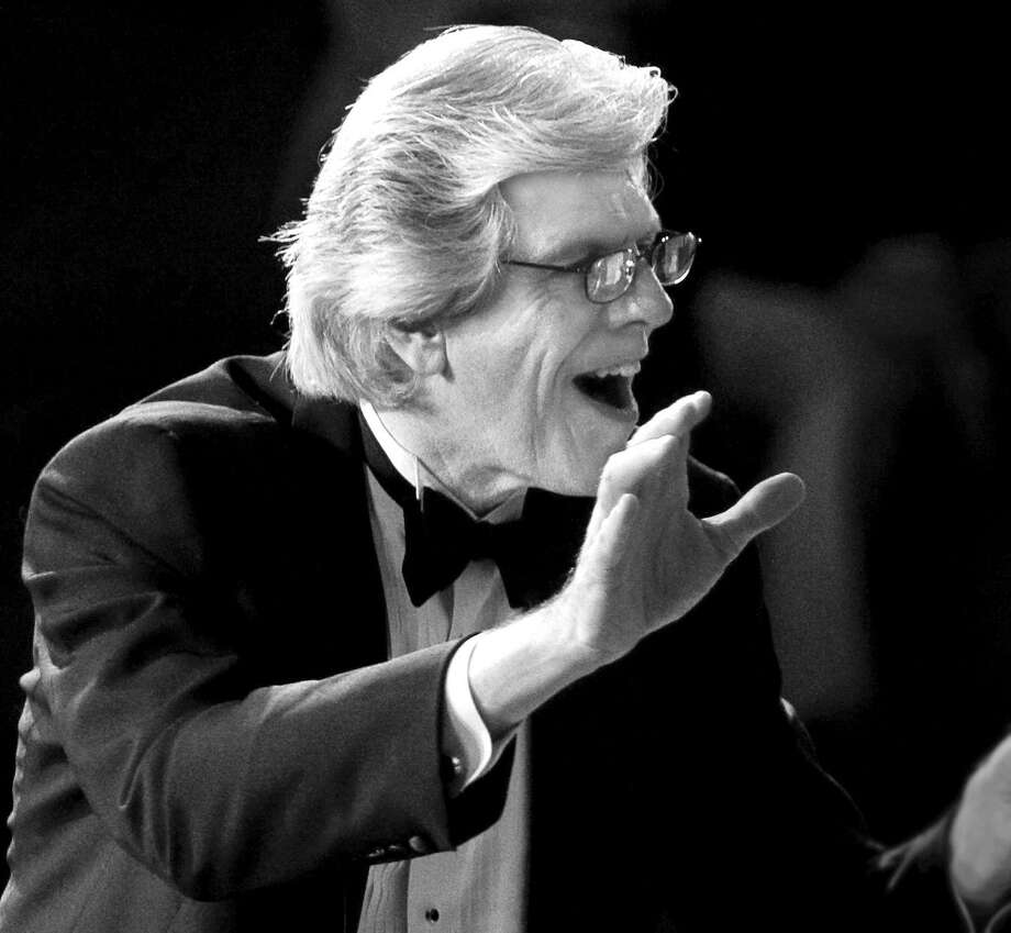 Houston Chamber Choir's founder and director Robert Simpson. Photo: Thomas Campbell, Photographer / Thomas Campbell