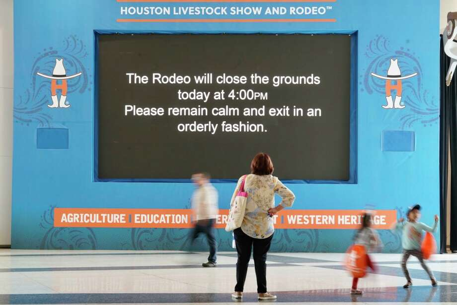 The Houston Livestock Show and Rodeo is cancelled for the remainder of the 2020 season. Photo: Mark Mulligan, Houston Chronicle / Staff Photographer / 2020