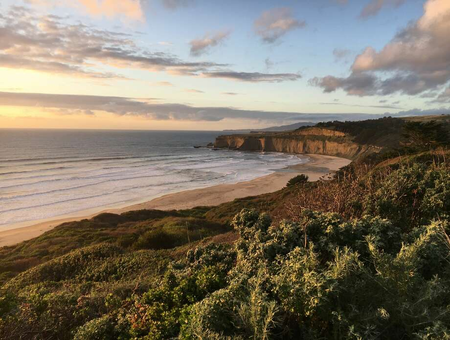 TunitasCreek Beach was formerly owned by rocker Chris Isaak. He sold the property to the Peninsula Open Space Trust three years ago and it was recently purchased by San Mateo County to be transformed into a public park. Photo: POST