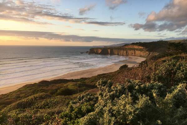 TunitasCreek Beach was formerly owned by rocker Chris Isaak. He sold the property to the Peninsula Open Space Trust three years ago and it has recently been purchased by San Mateo County to be transformed into a public park.
