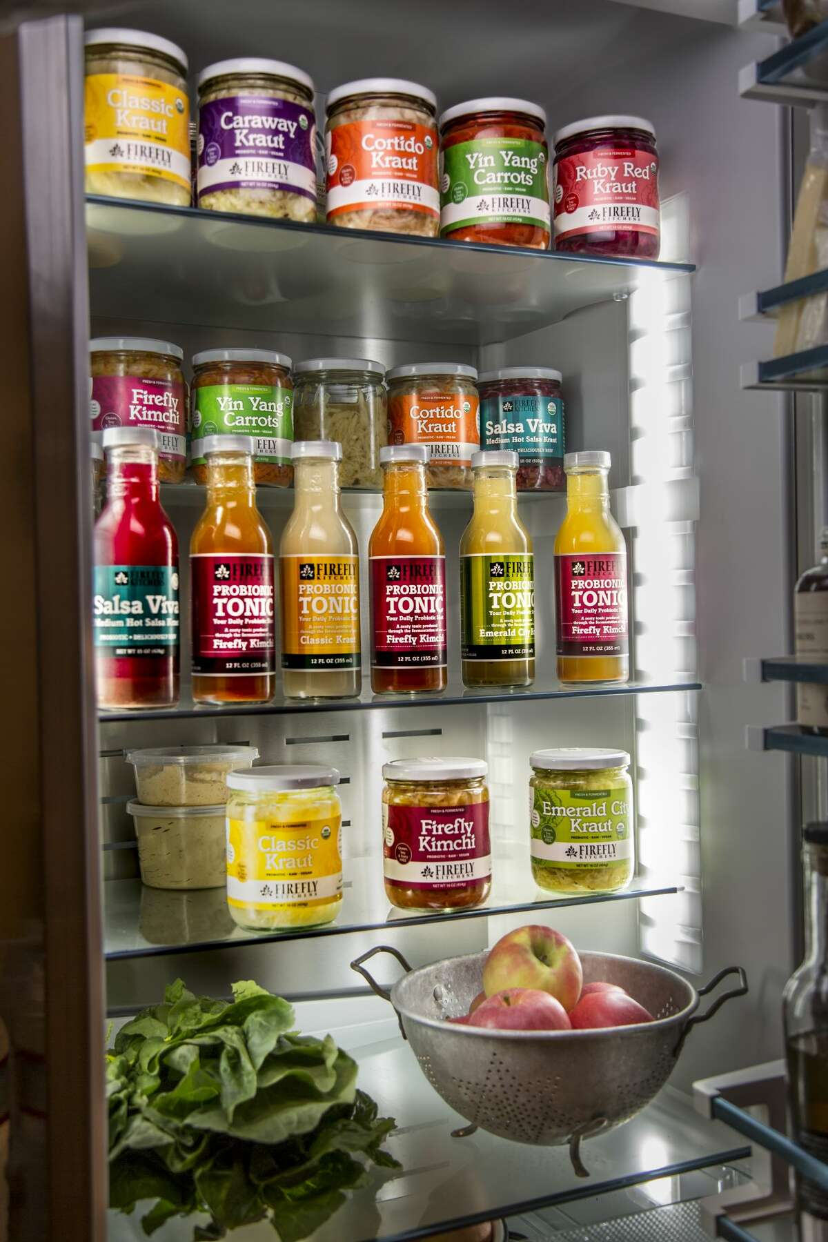 Firefly Kitchens divvies out krauts, kimchi, tonics, and more.