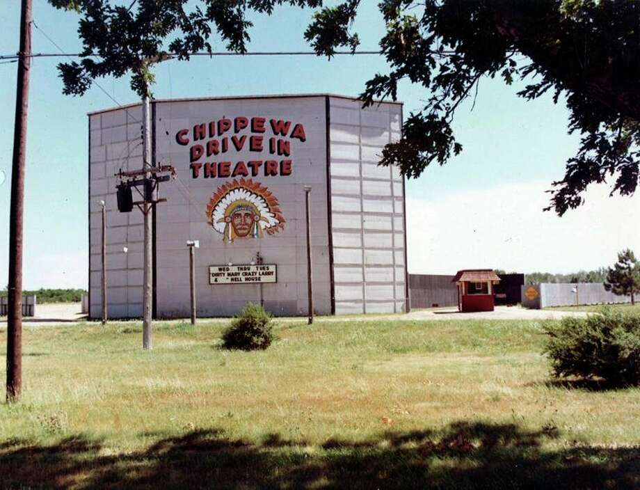 The Chippewa Drive In Theatre was a popular place to watch movies outdoors in the 1970s. It was located east of town on U.S. 31.