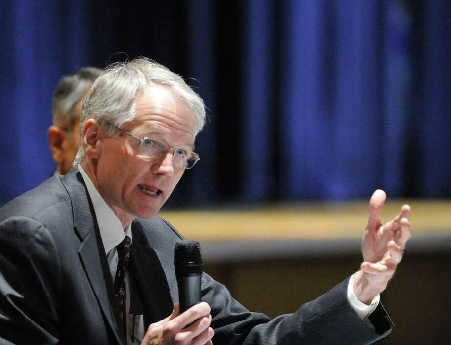 Weston Superintendent of Schools William McKersie. Photo: Bob Luckey Jr. / Hearst Connecticut Media / Greenwich Time