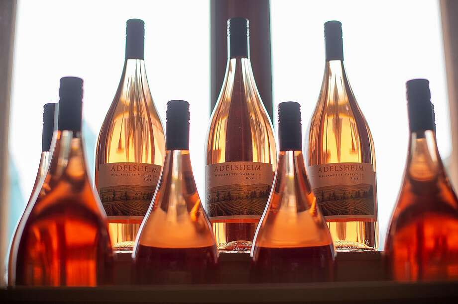 Adelsheim Vineyard rosés. Founder David Adelsheim was one of the pioneers of Pinot Noir in Oregon's Willamette Valley. Photo: Amanda Lucier / Special To The Chronicle 2019
