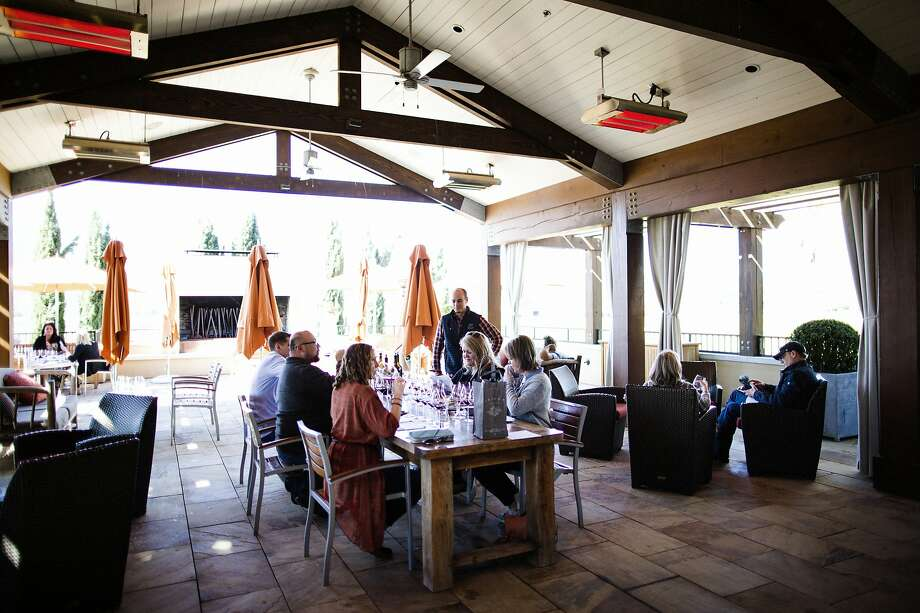 Like many Napa Valley wineries, Round Pond Estate is seeing normal day-to-day tasting room traffic, but has had several cancellations of corporate groups due to coronavirus concerns. Photo: Talia Herman / Special To The Chronicle