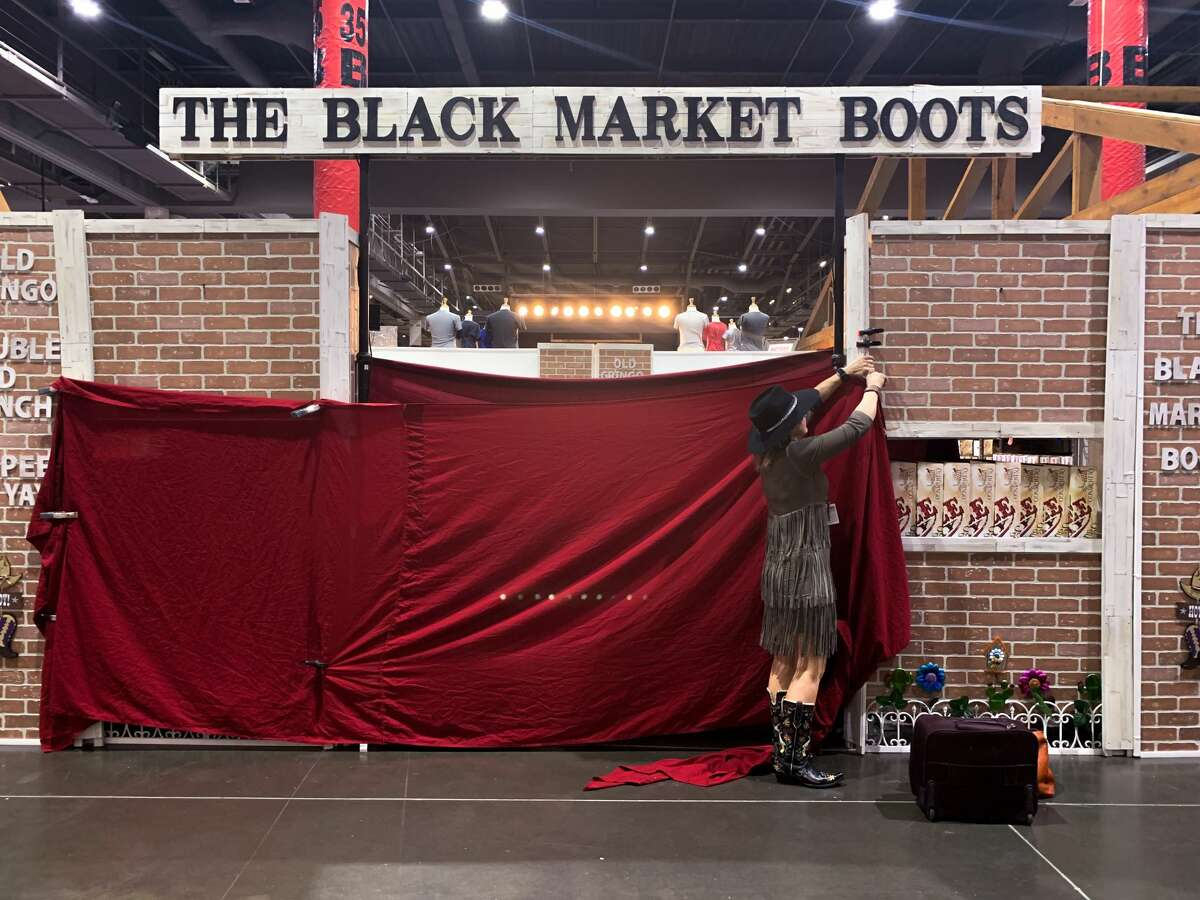 """Tammy Black of Black Market Boots has to close shop March 11 after the announcement that the remainder of the 2020 Houston Livestock Show and Rodeo had been canceled. """"I know what the show was capable of and I was counting on it. Will I overcome it? I think I can,"""" Black said. """"I am a farmer's wife and a farmer's daughter, so it's not the first time I had something blow up in my face, but this will be hard, very hard."""""""