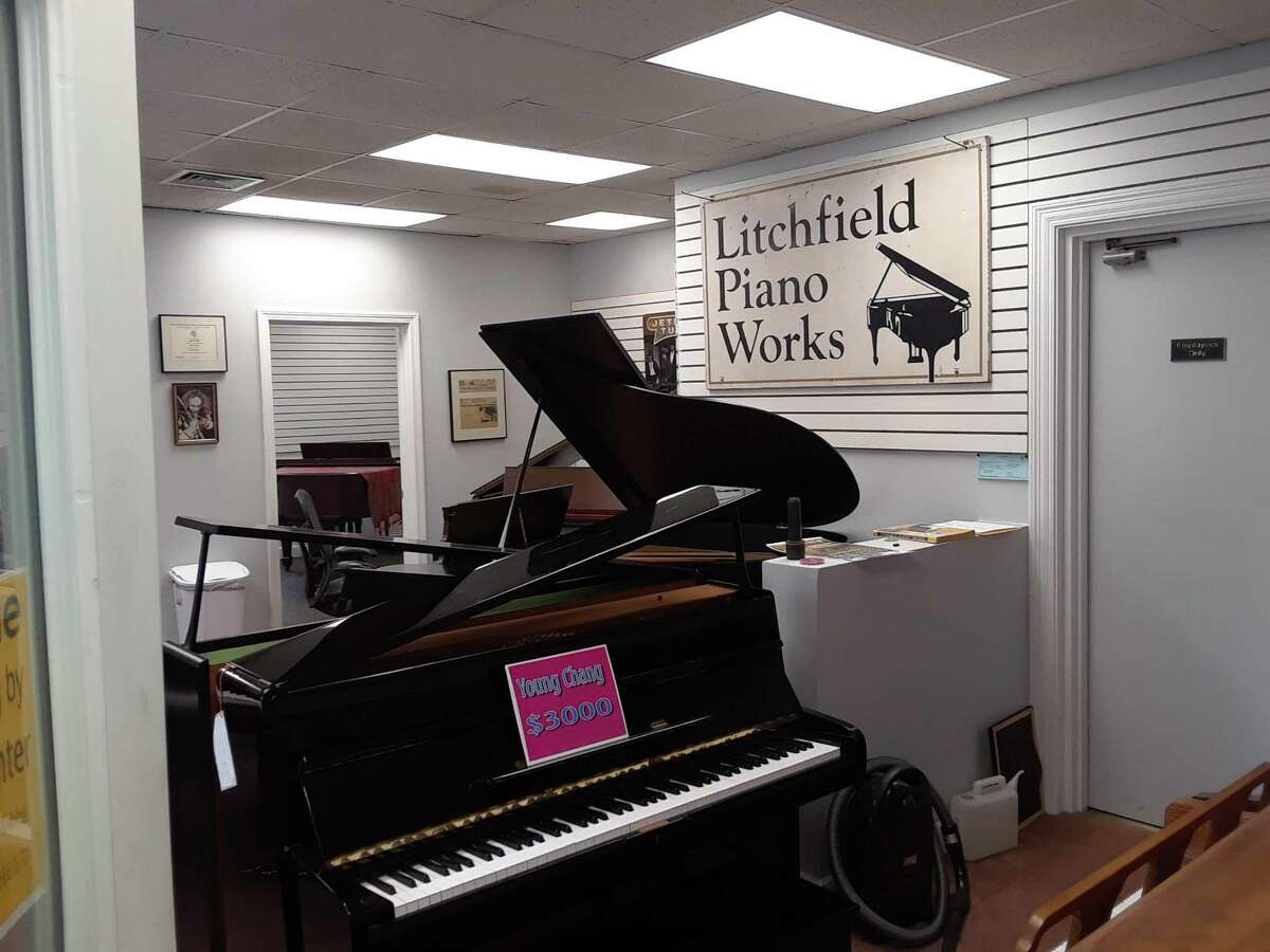 Joe DiBlasi, owner of Litchfield Piano Works in Litchfield, recently renovated his Route 202 building and renamed it the Litchfield Music Center. His showroom features consigned pianos for sale.