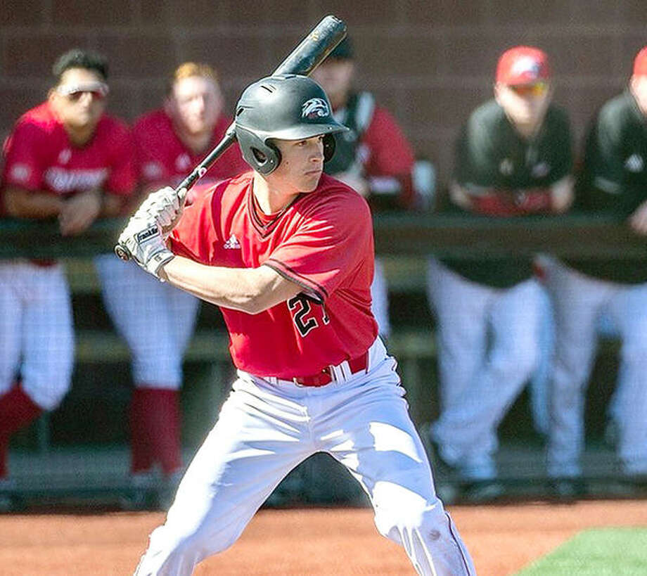 SIUE's Josh Ohl was 2-for-4 with a double and scored a run in Wednesday's loss at Missouri State University. Photo: Scott Kain, SIUE | For The Telegraph