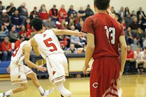 The Kingston boys basketball team ended Caseville's season on Wednesday night with an 83-40 win in district play at Kinde.