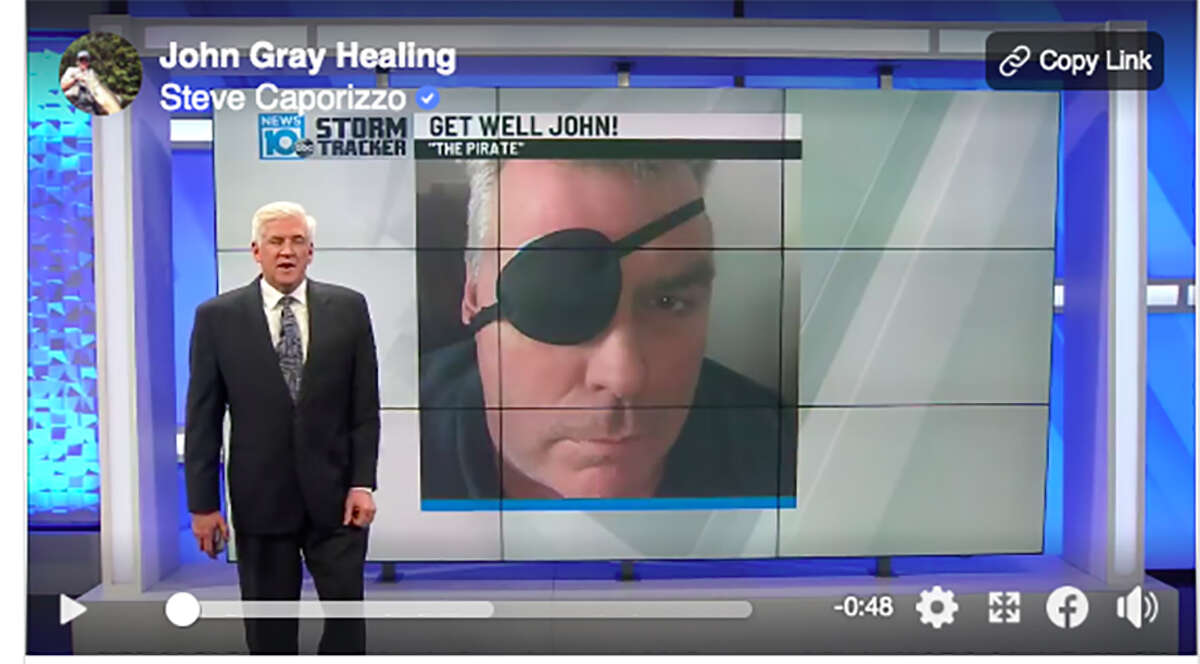 Many of you have wondered what happened to John Gray - an anchor and reporter on WTEN News10ABC and FOX23. Gray had surgery to repair a detached retina and is taking time off to heal.