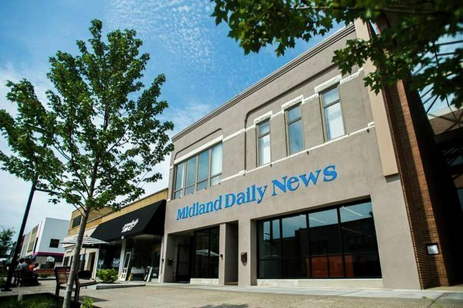 The Midland Daily News is located at 219 E. Main Street in downtown Midland. (Katy Kildee/kkildee@mdn.net)