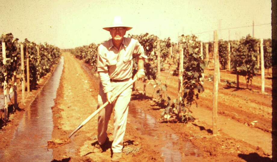 """Doc"" McPherson is considered by many as the ""Father of Wine"" in Texas, getting the first winery in Texas after Prohibition literally destroyed all of the wineries in Texas except one. Photo: Courtesy Photo / Copyright 2002"