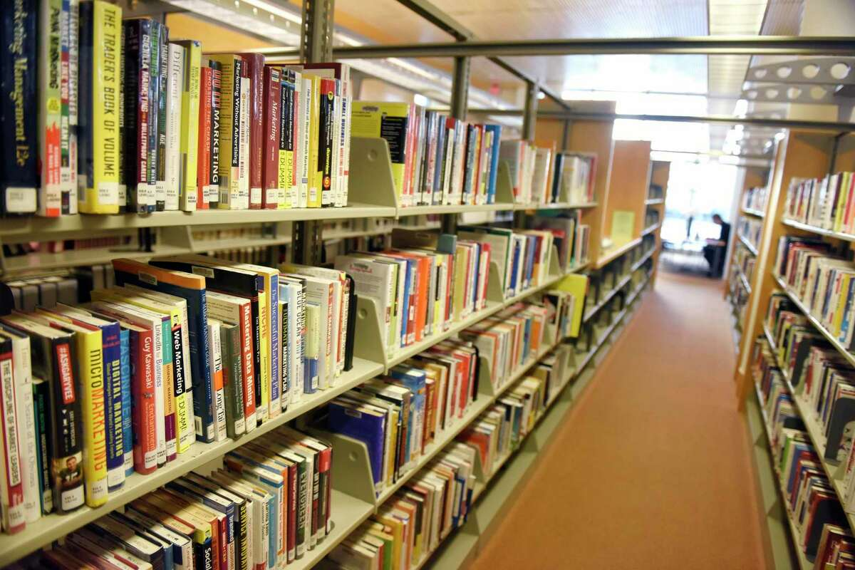 The sheleves of Greenwich Library still aren't acessible to the public but starting June 15, people will be able to get books through no contact pick up at all branches.