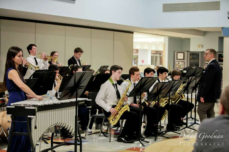On March 6, the the Staples Jazz Ensemble was awarded first place at the seventh annual Darien High School Jazz Jamboree. The SJE received consistently high marks in all captions, including perfect scores for Time as well as Presentation/Programming from both adjudicators. Photo: Contributed