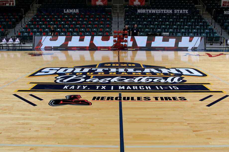 The Southland Conference cancelled the remainder of the men's and women's tournament Thursday morning. Photo: Photo Courtesy Of The Southland Conference