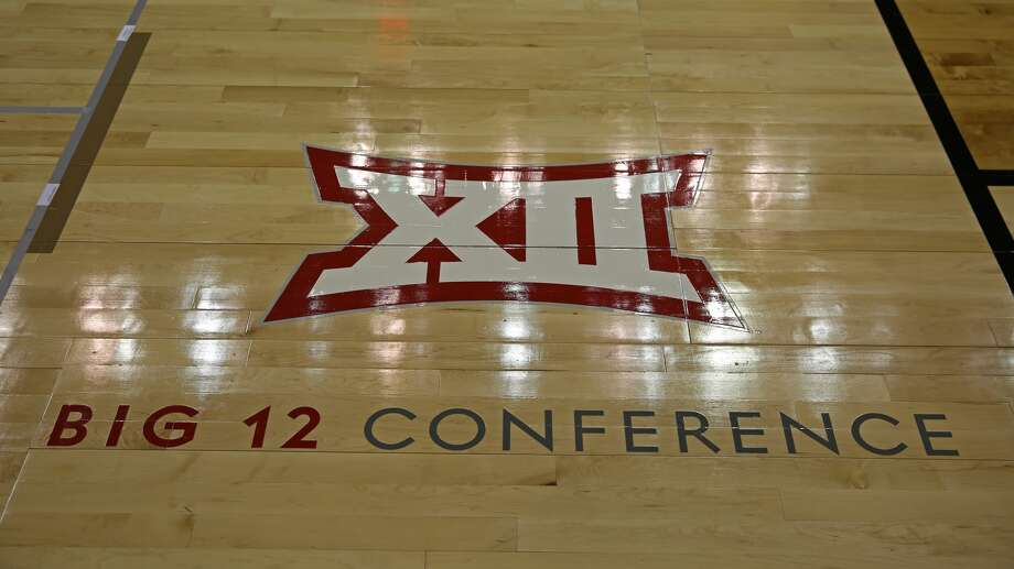 KANSAS CITY, MO - MARCH 25: A Big 12 logo during a quarterfinal game in the NCAA Division l Women's Championship between the UCLA Bruins and Mississippi State Lady Bulldogs on March 25, 2018 at Sprint Center in Kansas City, MO. Mississippi State won 89-73 to advance to the Final Four. (Photo by Scott Winters/Icon Sportswire via Getty Images) Photo: Icon Sportswire/Icon Sportswire Via Getty Images