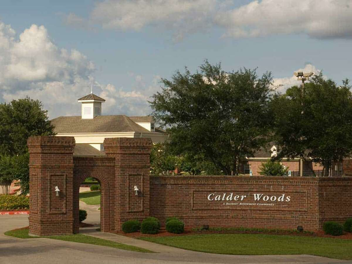 The front entrance of the Calder Woods community created by Buckner International.