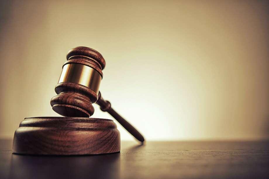 File photo of court room gavel. gavel Photo: Marilyn Nieves / Marilyn Nieves/Getty Image / ONLINE_YES