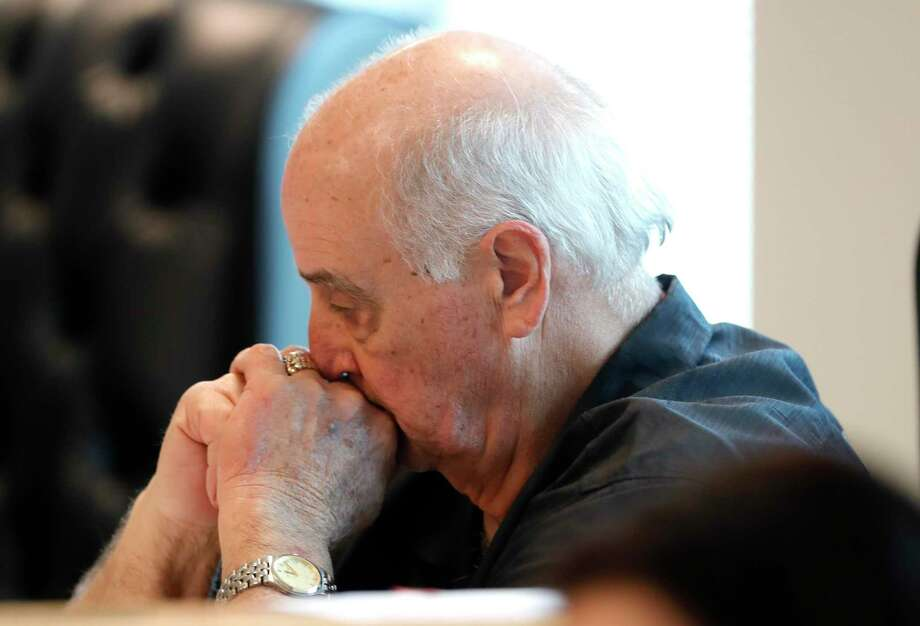 Montgomery County Precinct 1 Commissioner Mike Meador takes in a moment during a special session of the Montgomery County Commissioners Court called after county health officials announced the second presumptive positive case of COVID-19, Thursday, March 12, 2020, in Conroe. Photo: Jason Fochtman, Houston Chronicle / Staff Photographer / Houston Chronicle  © 2020