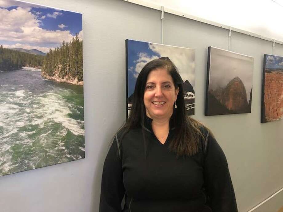 Local artist Janice Pavlides will be displaying her photography at Plumb Memorial Library throughout this month. Photo: Contributed Photo / Connecticut Post