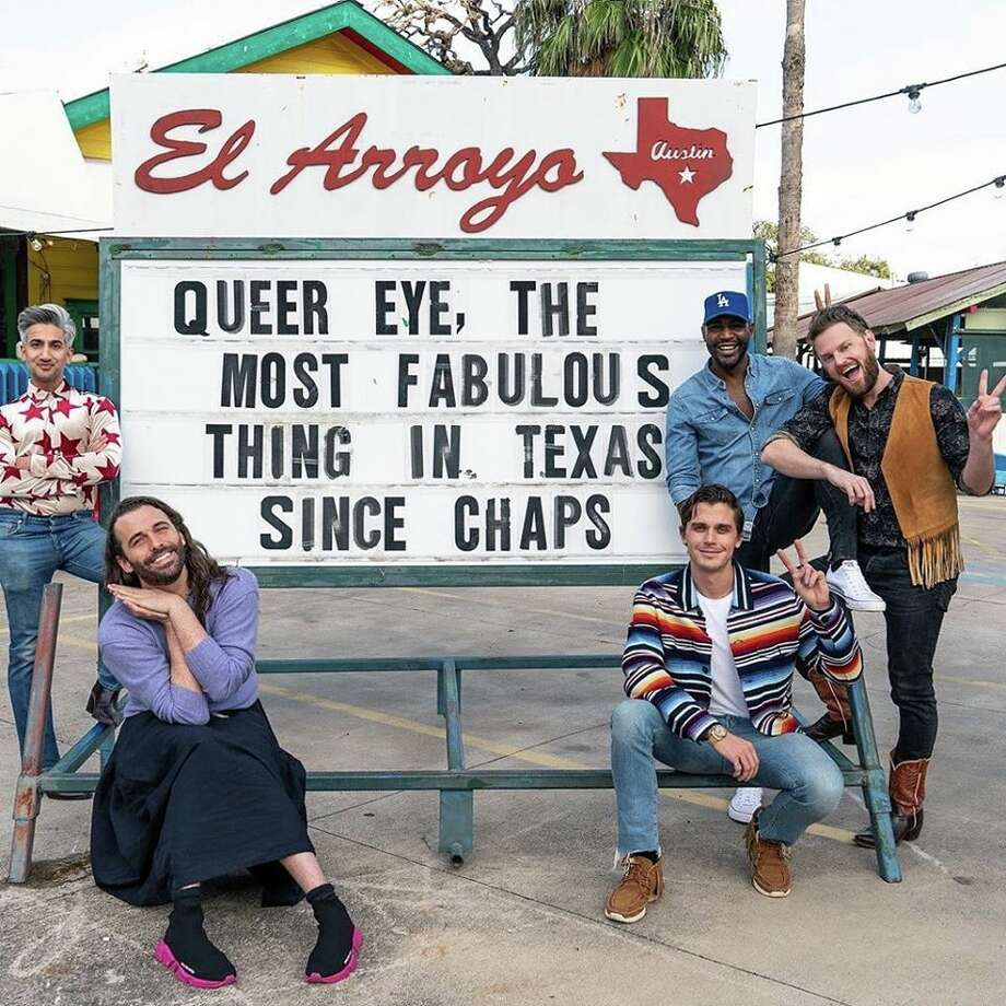"""Can you believe it? The popular Netflix show """"Queer Eye"""" is filming its season six in the Lone Star State. Photo: El Arroyo"""