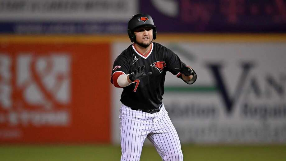 Incarnate Word's Chance Medina runs during an NCAA baseball game against Notre Dame on Friday, Feb. 21, 2020, in San Antonio. (AP Photo/Darren Abate) Photo: Darren Abate, FRE / Associated Press / Copyright 2020 The Associated Press. All rights reserved.