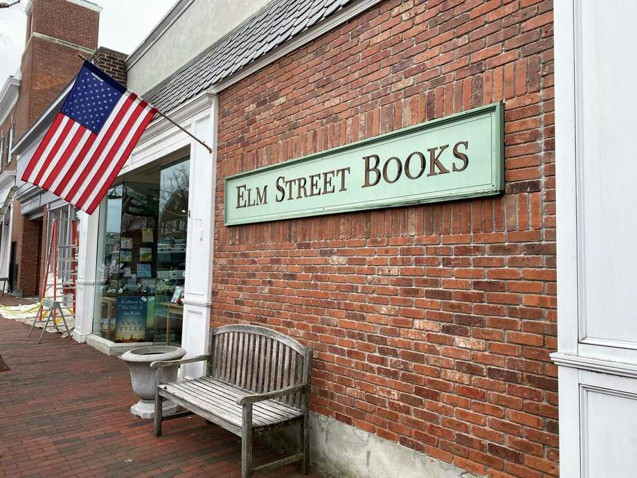 People were stocking up on books, puzzles and games at Elm Street Books in New Canaan on Thursday, March 12, after schools closed and the library shut its doors in response to the coronavirus. Photo: Elm Street Books / Contributed Photo