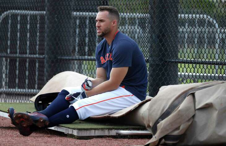 George Springer and the Astros were supposed to open the season at home against the Angels on March 26, but they won't play again until April 9 at the earliest.