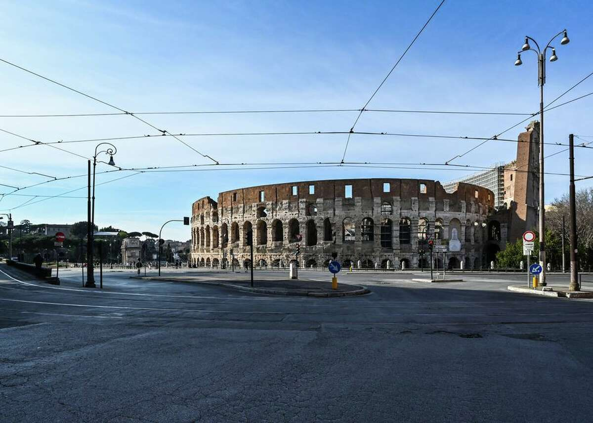 Italy has cracked down on travel and public gatherings, and even closed most stores, amid the coronavirus pandemic. It's also shuttered museums and heritage sites, including the iconic Colosseum.