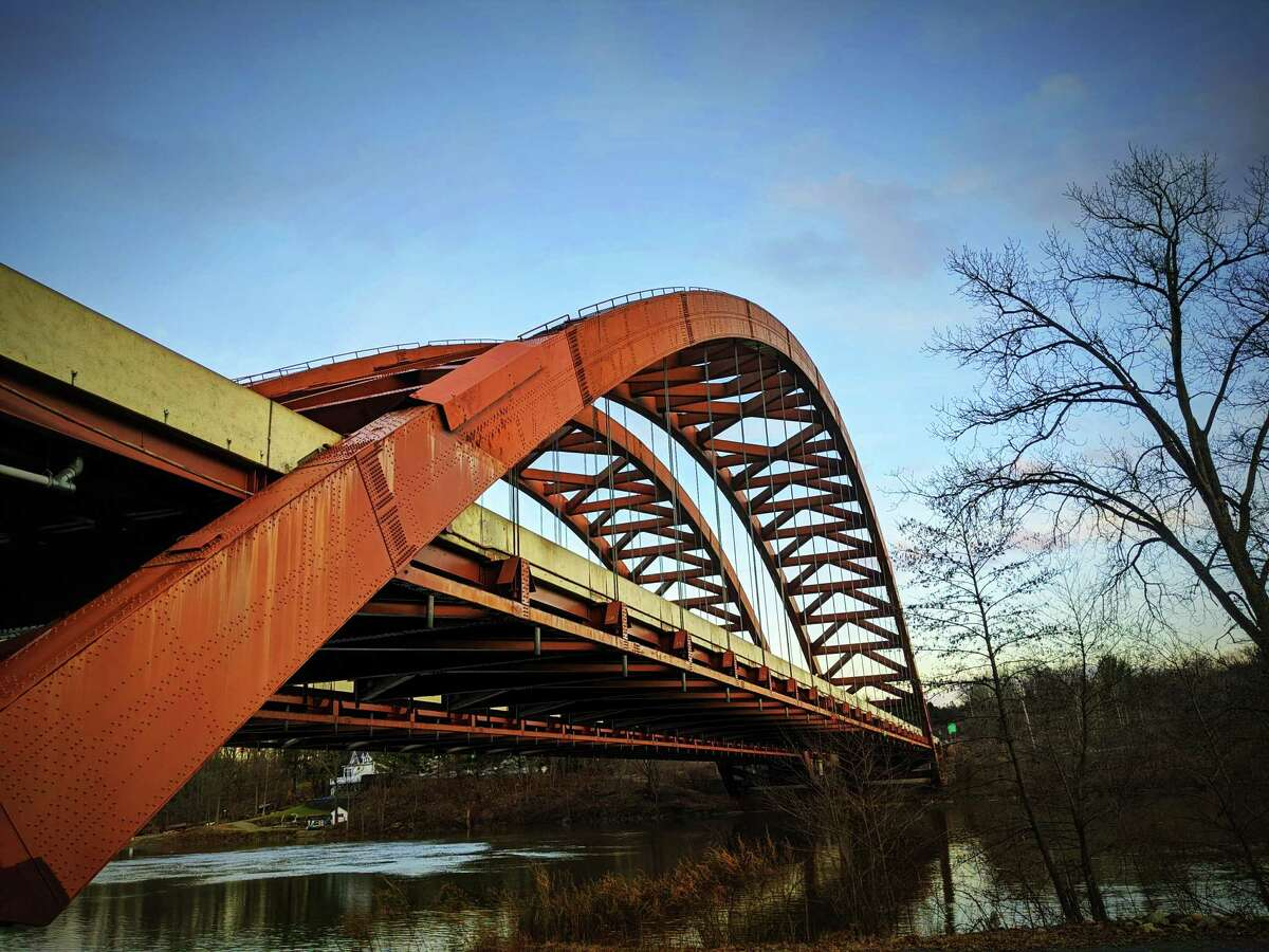 Rob Boswell Jr. of Clifton Park offers up unexpected angles of the Twin Bridges from below from earlier this month.