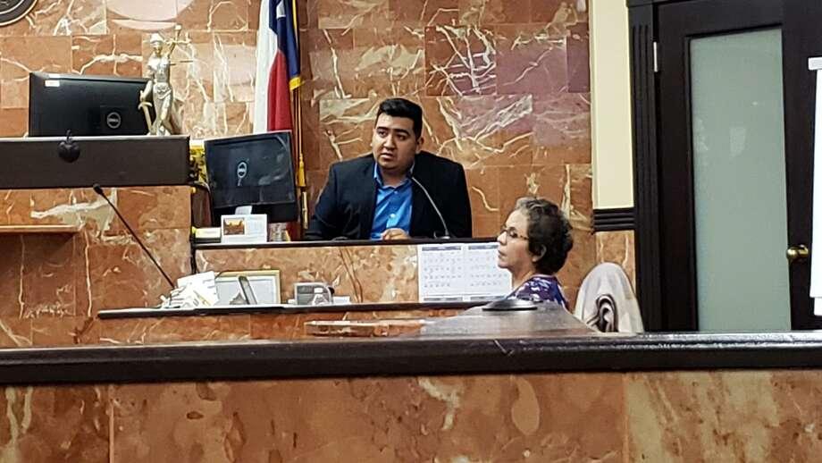 Daniel Sánchez durante una comparecencia en la Corte de Distrito 341, el miércoles 11 de marzo de 2020. Photo: César G. Rodríguez /Laredo Morning Times