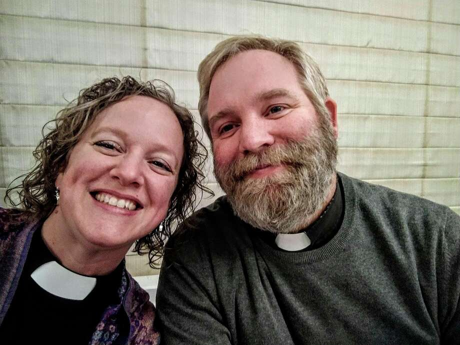 The Rev. Jodi and Christian Baron will serve as new Co-Rectors of Holy Trinity Episcopal Church in Manistee. (Courtesy Photo)