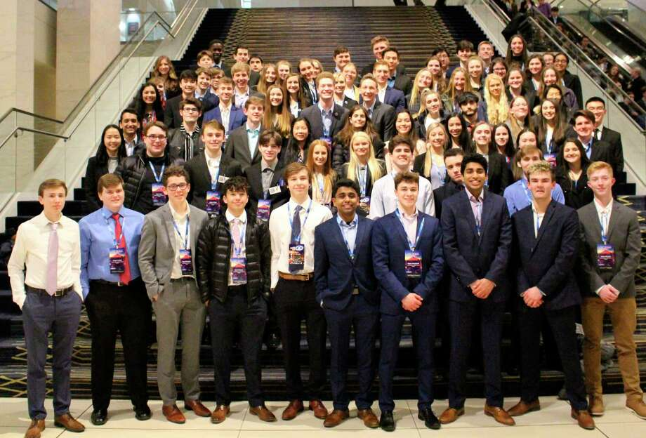 The Dow High DECA Club brought home 66 medals and students were finalists in their event. (Photo provided)