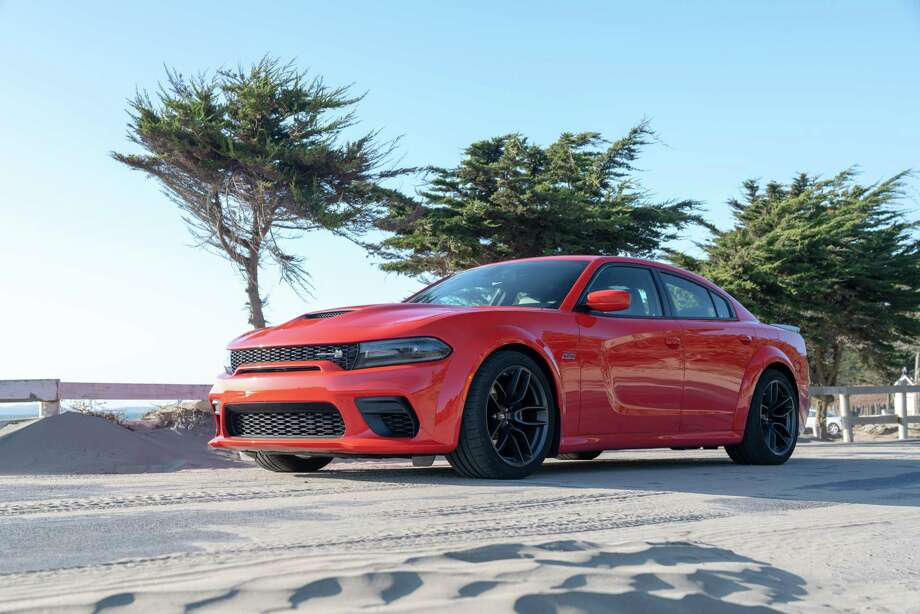 The overall look of the Charger presents clean lines, creating a sleek, chiseled, and light-appearing mass. Photo: FCA US LLC