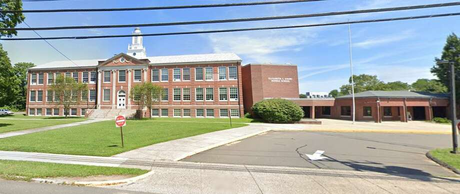 Adams Middle School in Guilford, Conn. Photo: Courtesy Of Google Maps