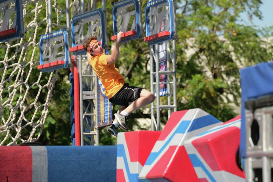 "Cypress teen Carson Edwards is a contestant on Season 2 of the Universal Kids series ""American Ninja Warrior Junior."" Photo: Courtesy Of Universal Kids / Submitted / 2019 Universal Kids Media, LLC"