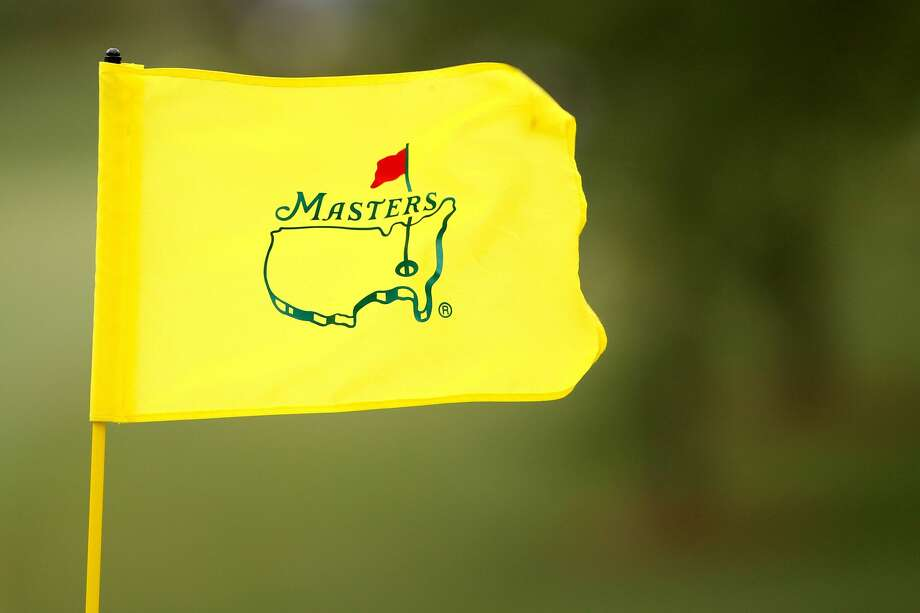 AUGUSTA, GA - APRIL 08: A flag with an Augusta National logo waves in the breeze during the first round of the 2010 Masters Tournament at Augusta National Golf Club on April 8, 2010 in Augusta, Georgia. (Photo by Andrew Redington/Getty Images) Photo: Andrew Redington/Getty Images