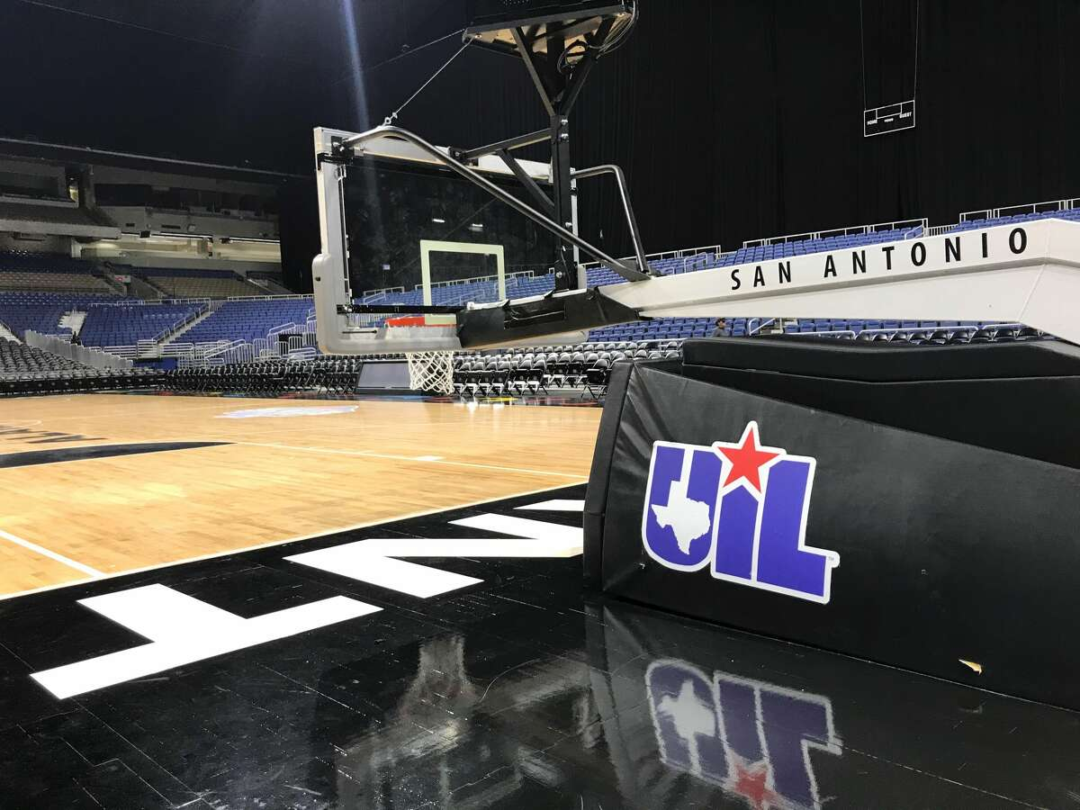 An empty Alamodome after the UIL boys basketball state tournament was suspendeded due to the spread of the coronavirus on Thursday, March 12, 2020 in San Antonio.